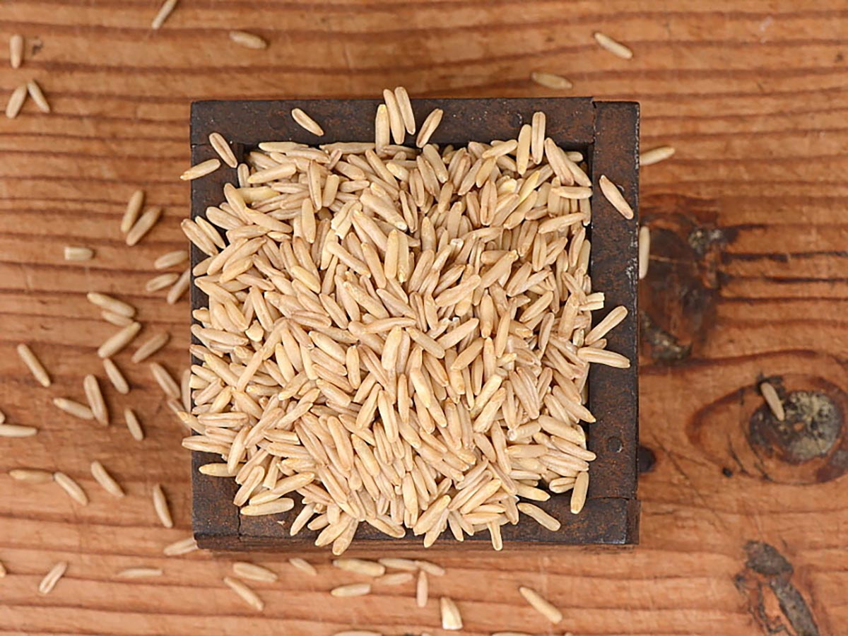 국산귀리쌀 알곡