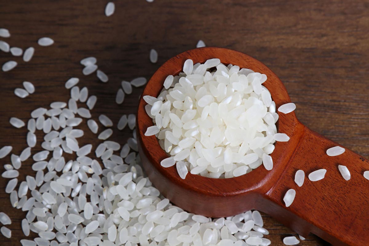 유기농 백미 원재료사진